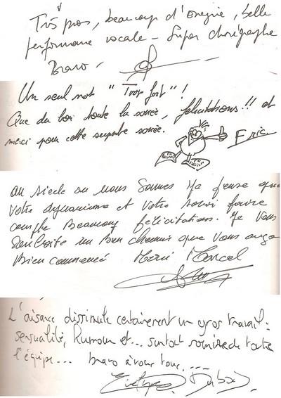 livre d or page 2
